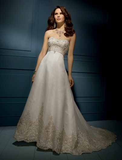 Alfred Angelo Sapphire Collection Style # 848