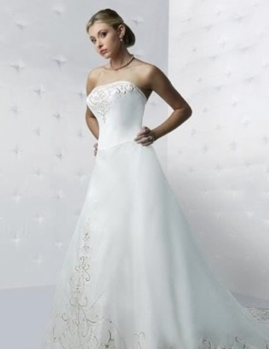 Michaelangelo David bridal L8555