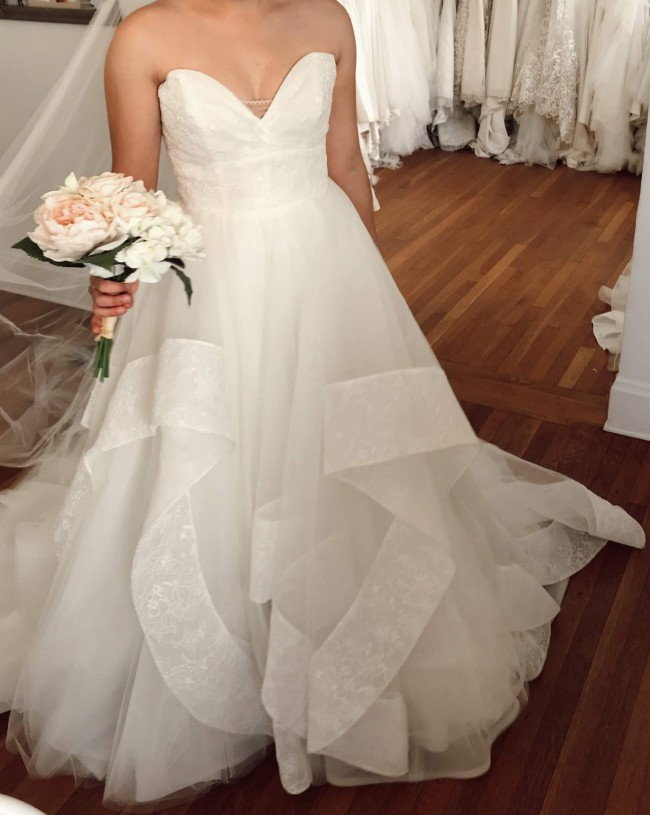 Hayley Paige STYLE 6863 QUINN