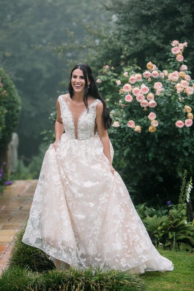 Milla Nova Sienna Custom Gown & Veil