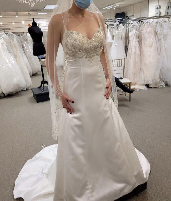 Casablanca Bridal 2275 Bluebell