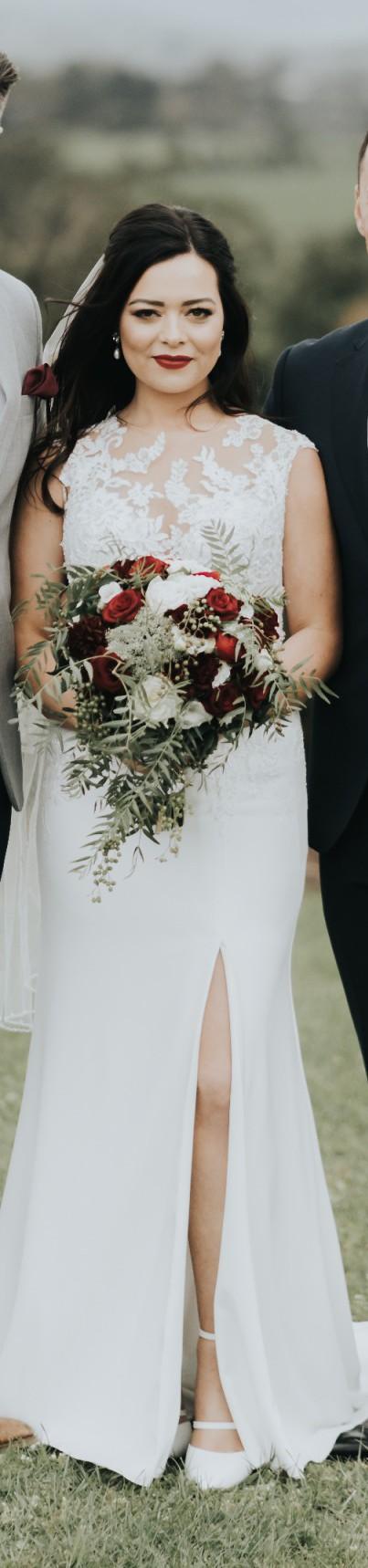 San Patrick Lacey - Off white dress