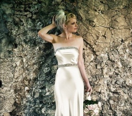 Johanna Johnson, Lila Gown & Isabella Belt