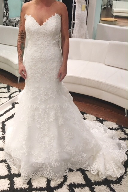 Maggie Sottero, 7MW425+IVORY PEWTER ACCENT +4 3FS