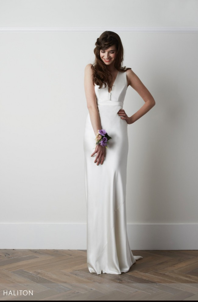 Charlie Brear Haliton dress and Voulaire overdress