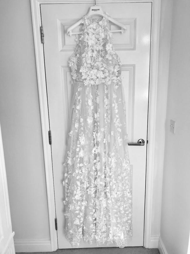 Pronovias Edna Boho 2019 Romantic White Tulle Dress