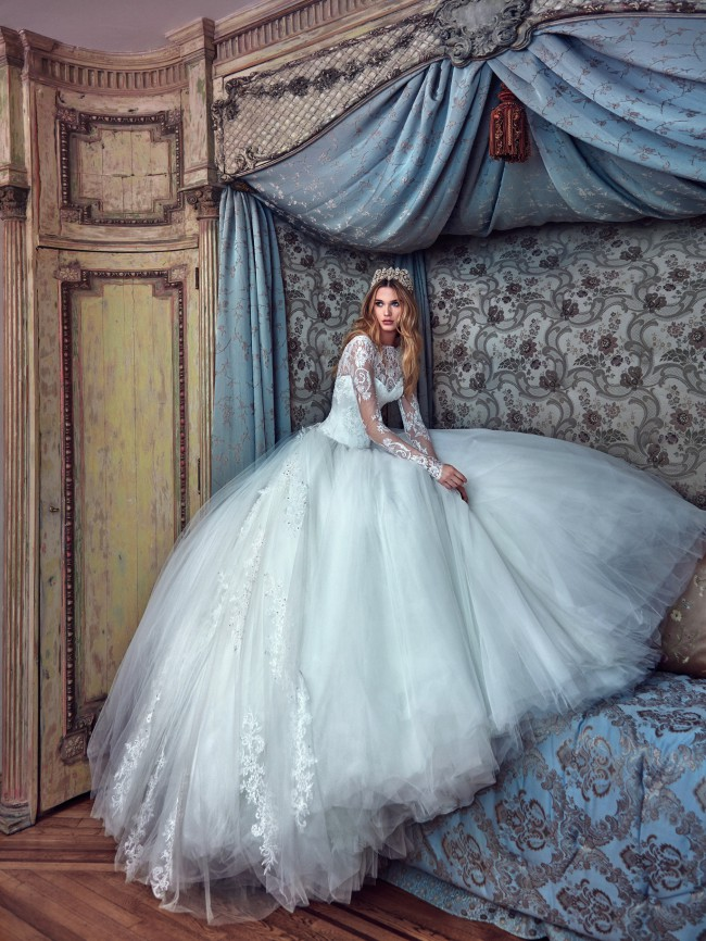 Galia Lahav, Corina LeSecretRoyal with custom made alterations