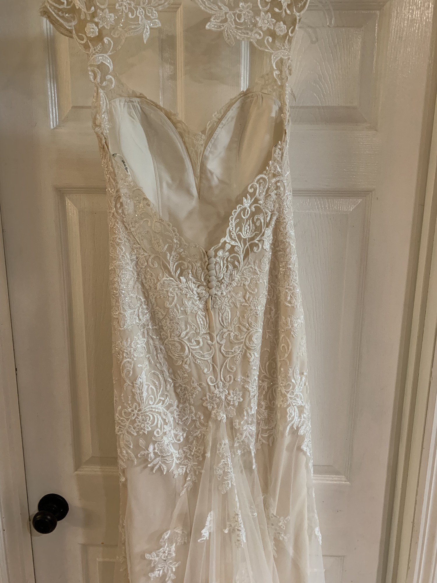 Stella York 6245 Ivory Cafe Wedding Dress On Sale