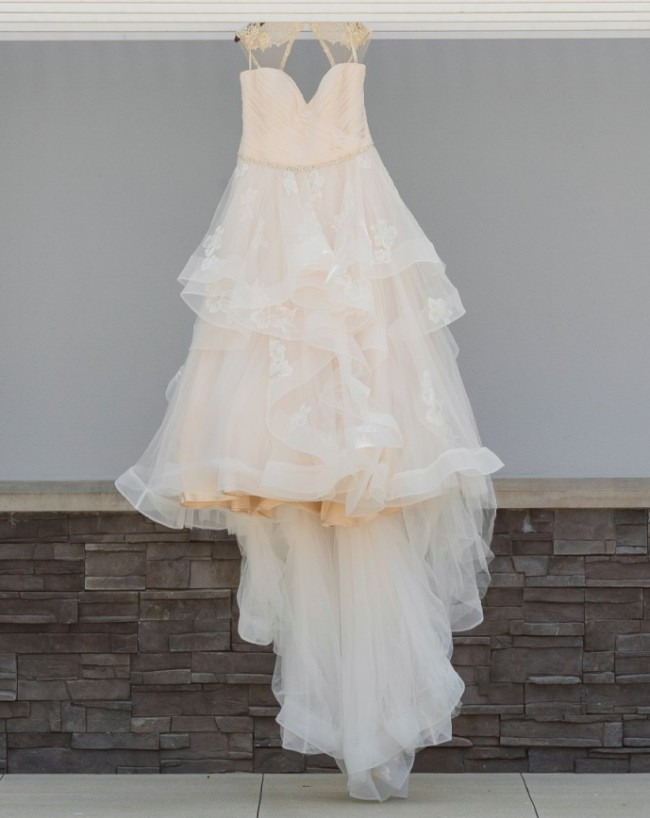 Sophia Tolli Rylee Ruched Top Wedding Dress