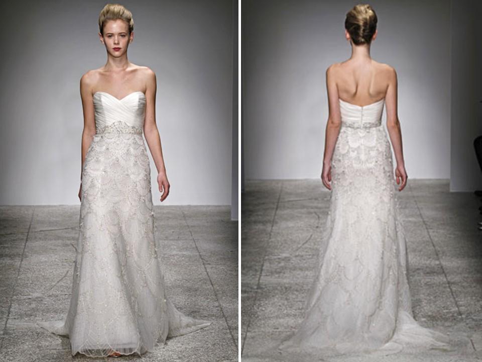 Kenneth Pool Estelle Used Wedding Dress On Sale 83 Off Stillwhite