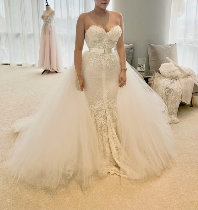 Inbal Dror, 2019 Pure Collection 18-08 Gown in White