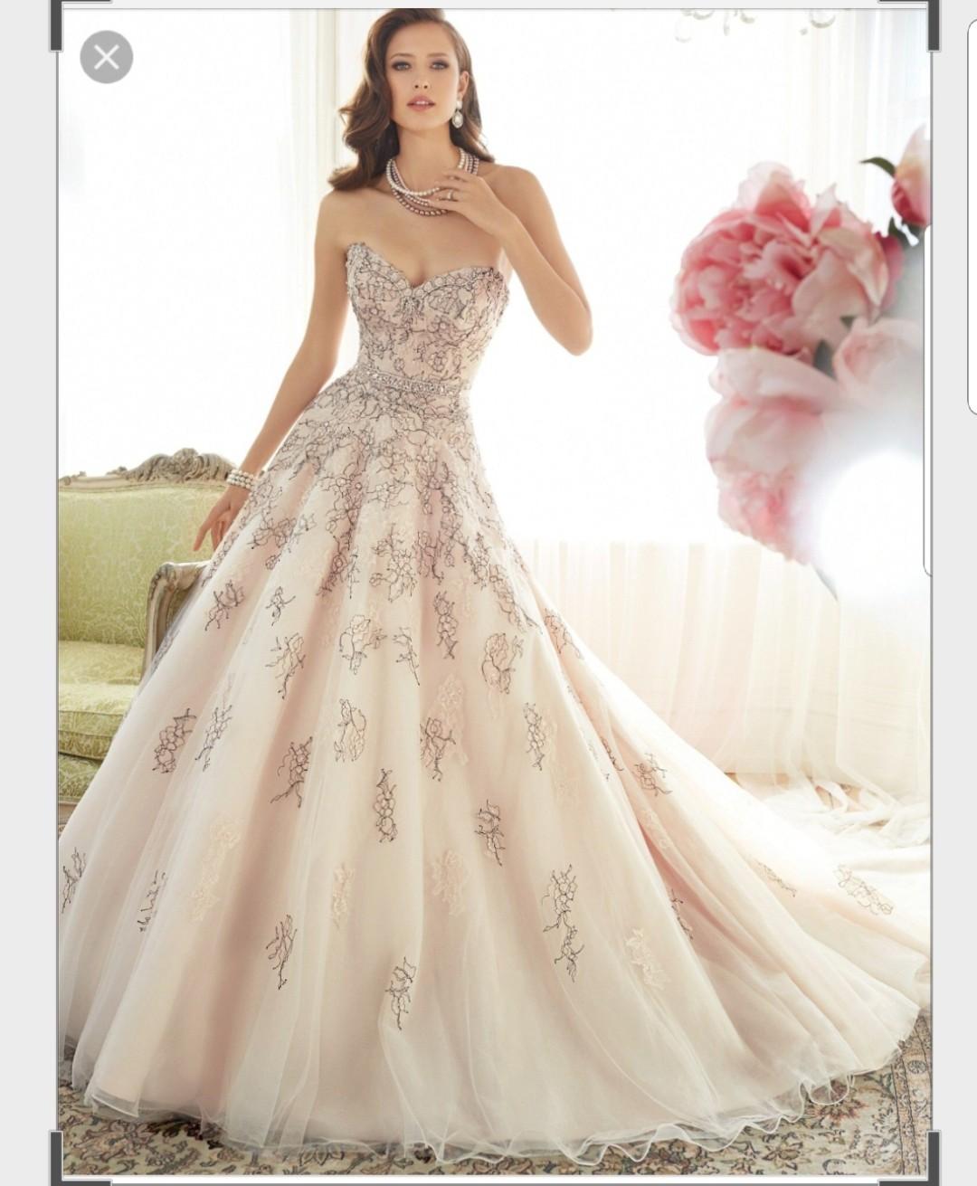 Sophia Tolli Used Wedding Dress On Sale 50% Off