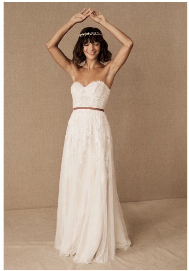 Willowby Geranium Gown from BHLDN