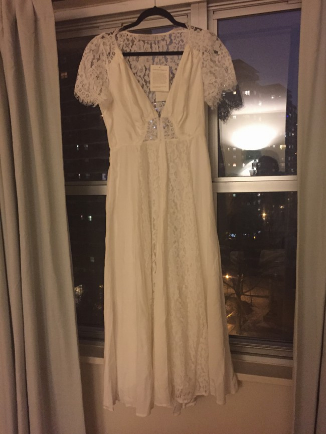 f7d5543ef1 Christy Dawn Fitzgerald Dress New Wedding Dress on Sale 55% Off ...