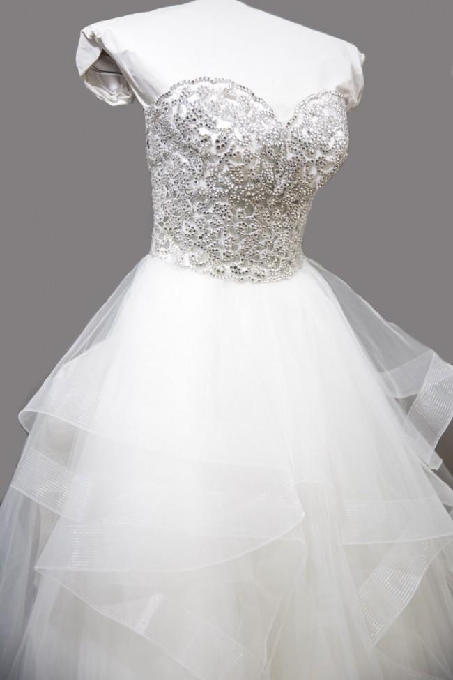 97191350be16 Pnina Tornai 14411 New Wedding Dress on Sale 27% Off - Stillwhite ...