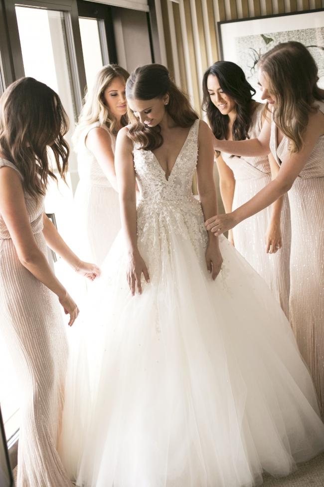 8f70b8dd0c Steven Khalil Custom Made Two Piece Second Hand Wedding Dress on ...