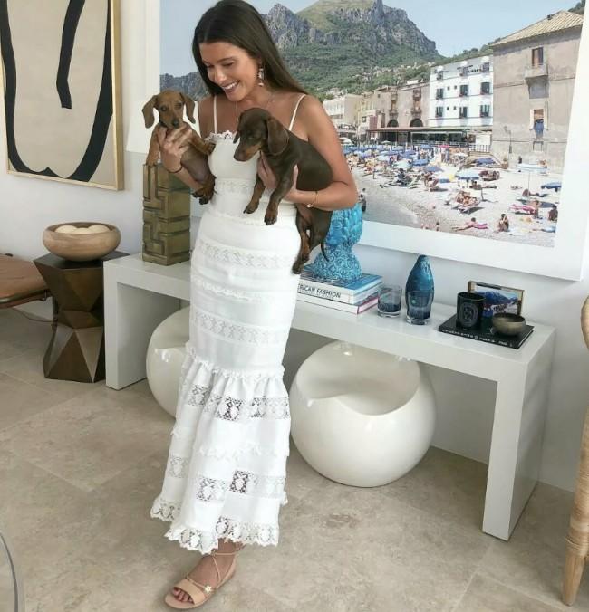 Zimmermann Wayfarer panelled midi dress size 1