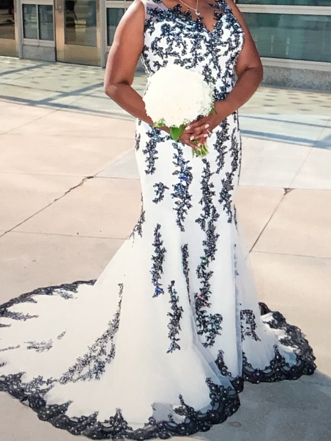 Custom Gown Swarovski Crystal