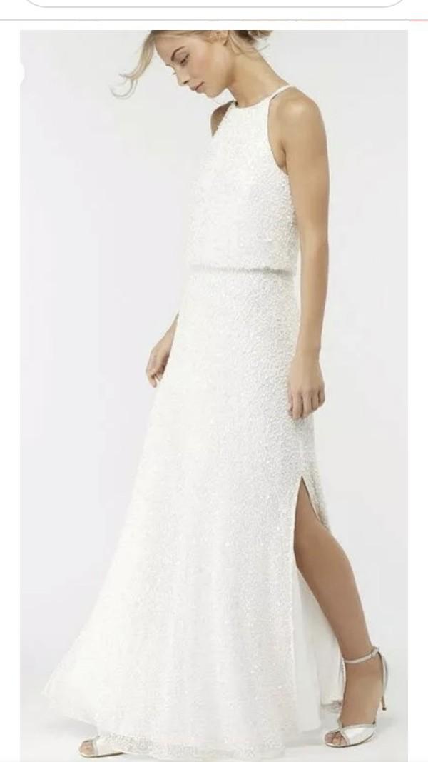 Monsoon Diana Embellished Maxi Bridal Dress