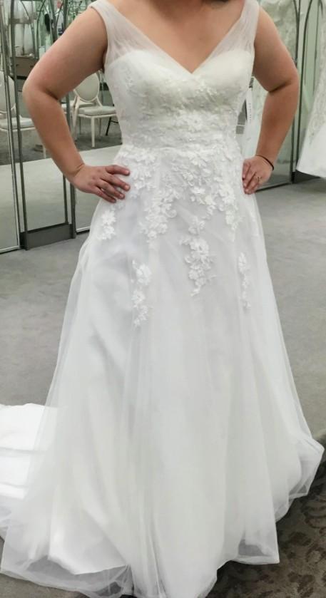 David's Bridal WG3712