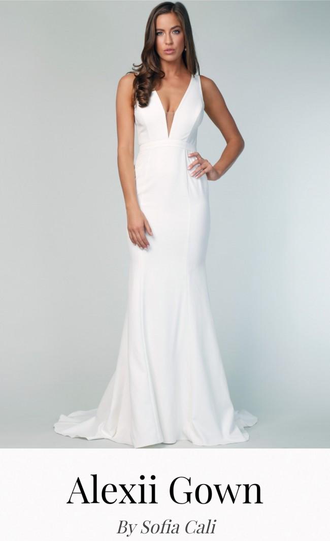 Sofia Cali Alexii gown