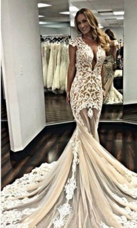 44eaec205ca Calla Blanche 16130 Preloved Wedding Dress on Sale 30% Off ...