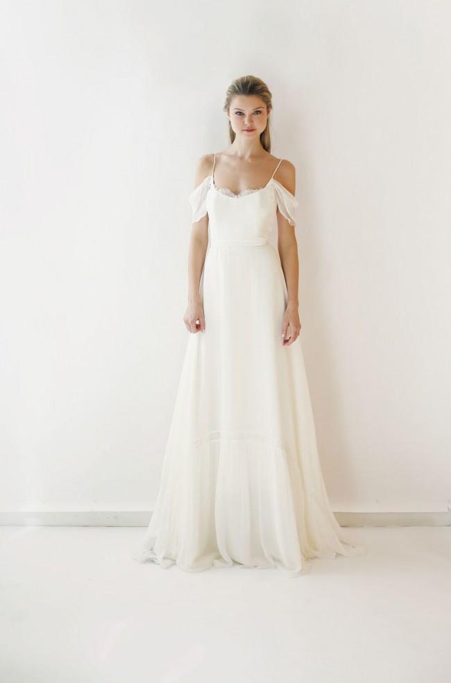 5a7bd32a7d9 Leanne Marshall Hannah Sample Wedding Dress on Sale 59% Off ...