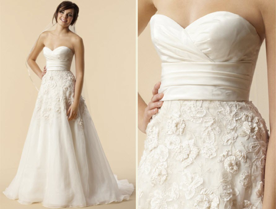 Pronovias Vicenta Second Hand Wedding Dress On Sale: Watters Lasara Second Hand Wedding Dress On Sale 69% Off