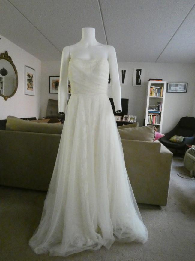 Evelyn - 1950s Inspired Long Sleeve Wedding Dress