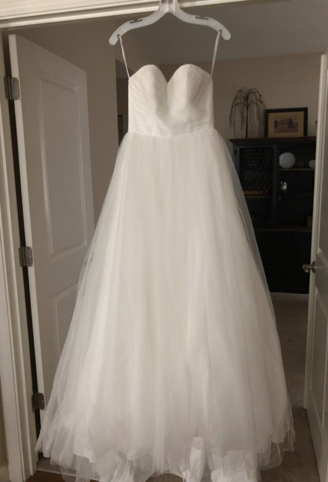 David's Bridal WG3802