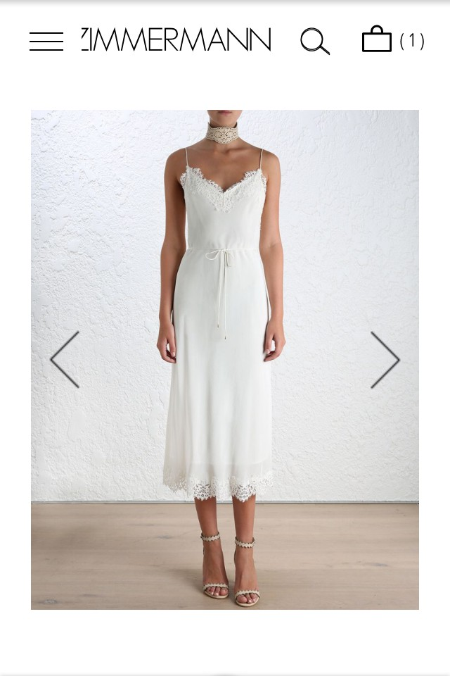 2fd5ac3a5ae0 Zimmermann Long lace slip New Wedding Dress on Sale 22% Off ...