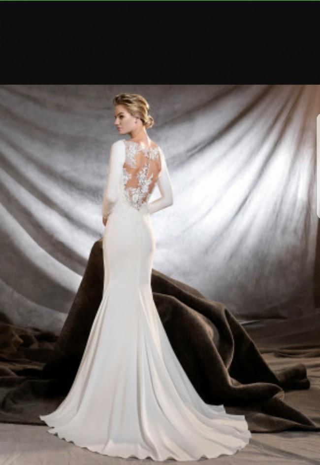 056566d01 Pronovias Orquidea Second Hand Wedding Dress on Sale 55% Off ...