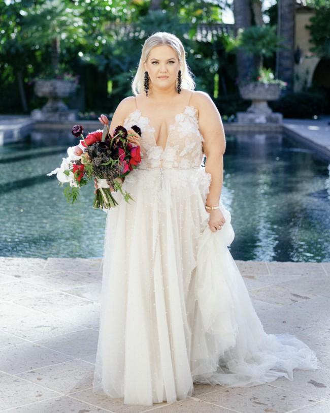 Liz Martinez, Bulent Gown
