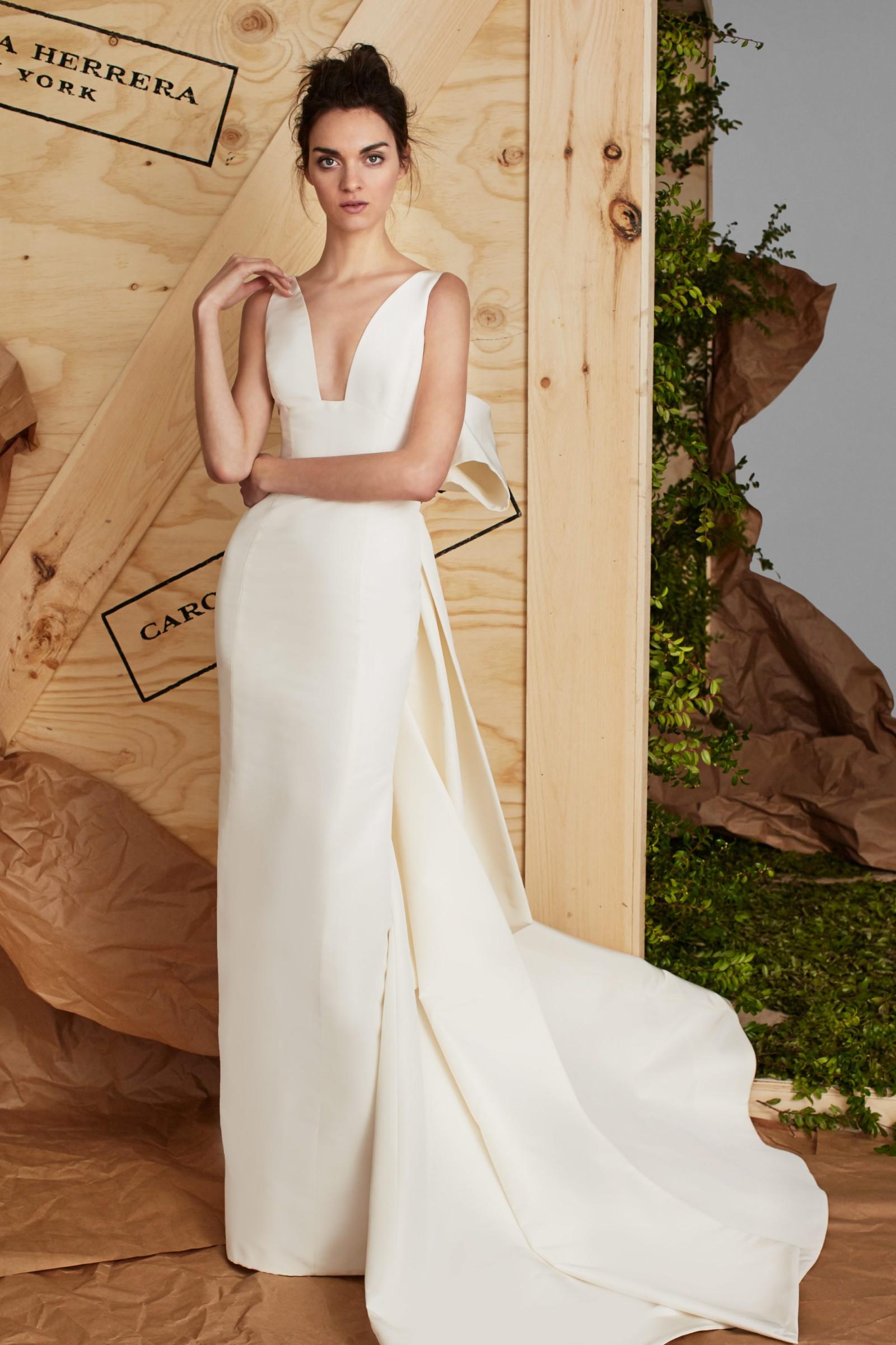 Carolina Herrera Wedding Dress.Carolina Herrera Aubrey Wedding Dress On Sale 57 Off