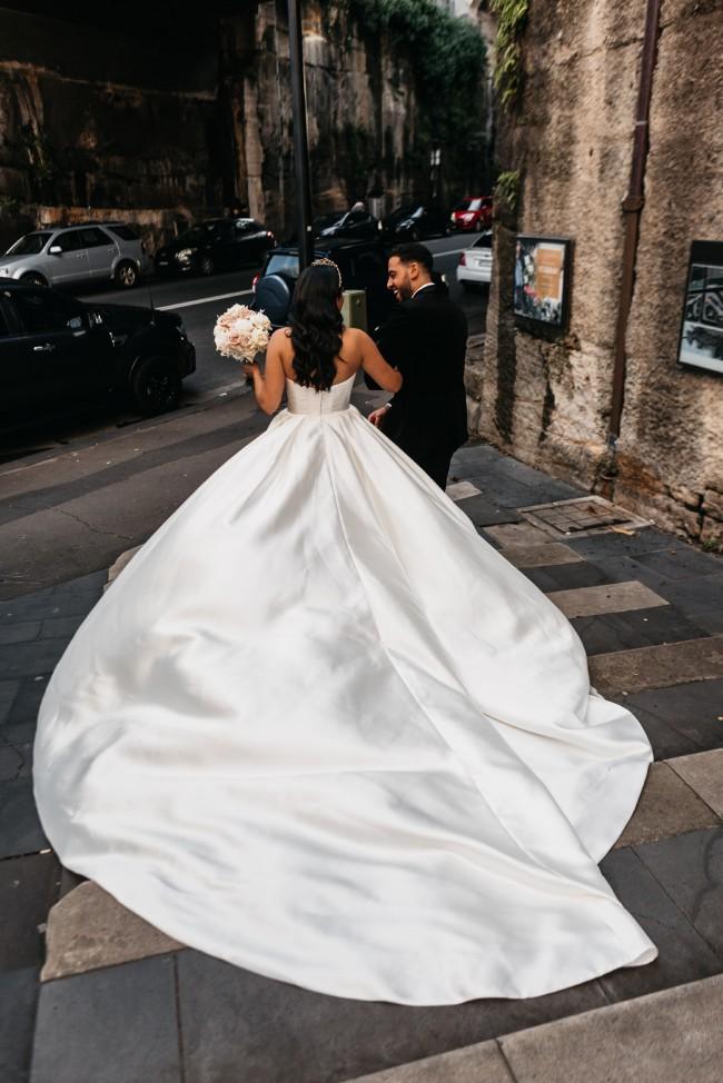 Leah Da Gloria Eloise Gown W/ Kennedy Skirt