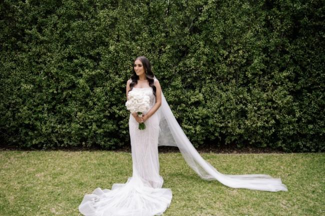 Lookbook Bride Pallas Couture Inspired Wedding Dress