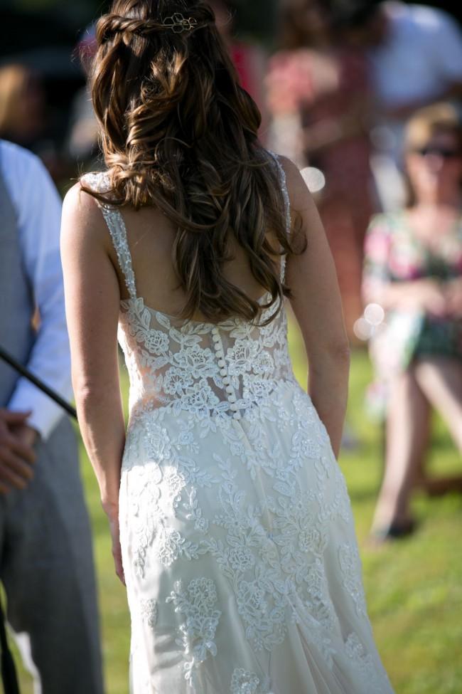 Stella York Old Hollywood Glamour Wedding Dress- 6371