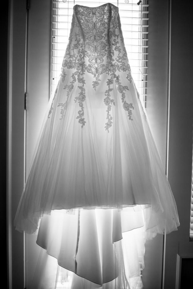 David's Bridal Collection V3469