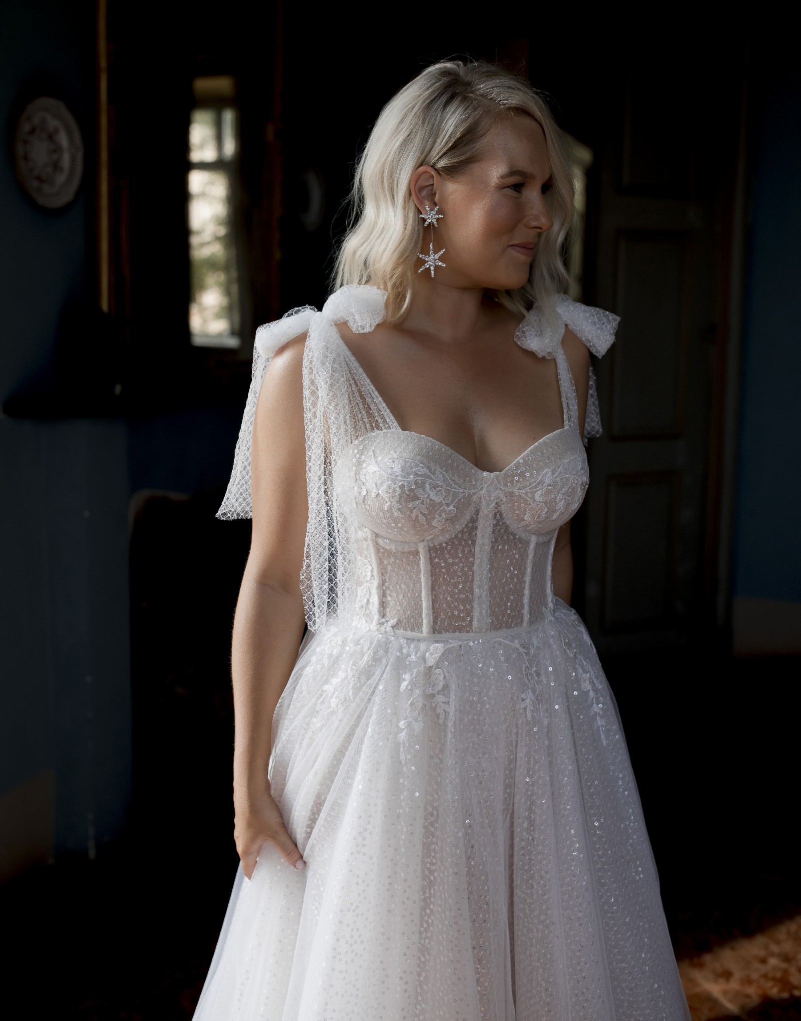 Muse By Berta Donna Preowned Wedding Dress Save 20   Stillwhite