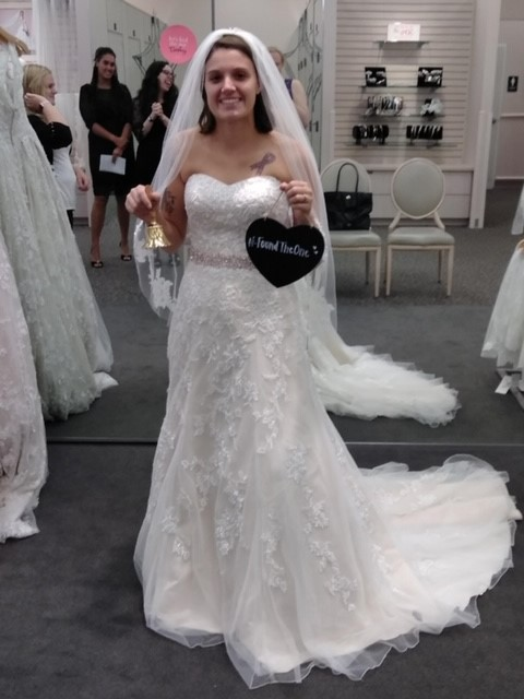 David S Bridal Collection V3587 Wedding Dress On Sale 50 Off