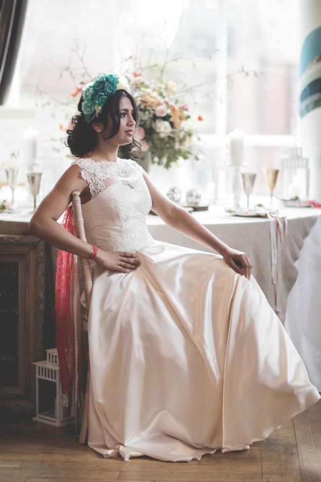 Custom Gown Rose bespoke gown