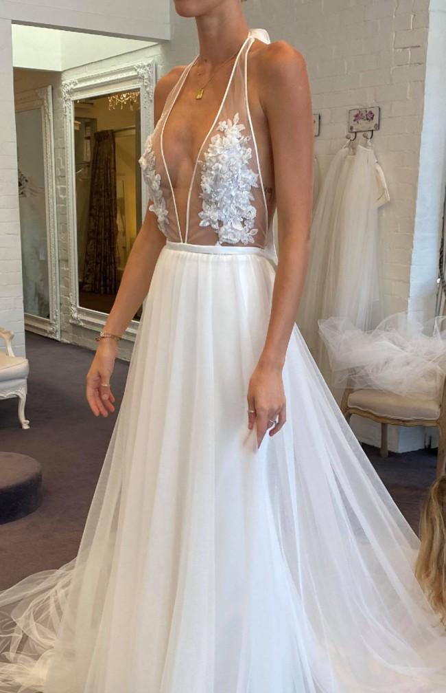 Alison Davis Collection NEW Custom Christina Gown