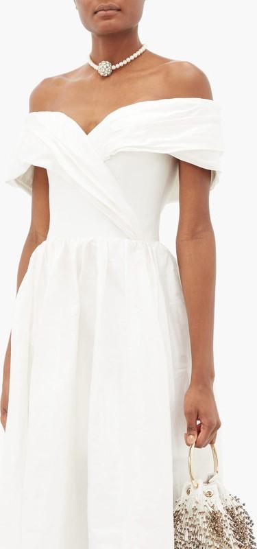 Rasario Silk Corset Gown / Silk - Tafetta Gown