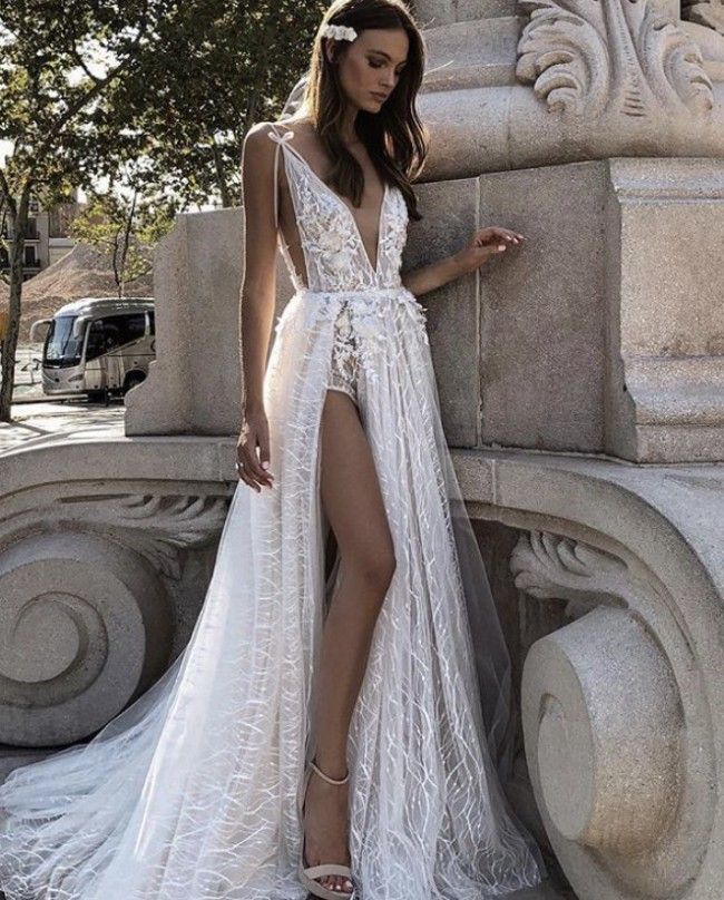 Muse By Berta Daria NEW FROM BERTA NYC * Not worn on wedding day