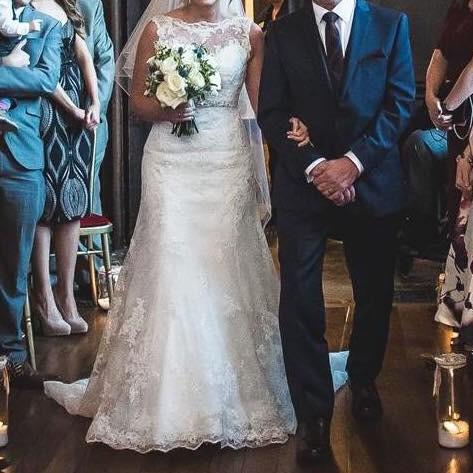 aa1ab103fcf Sophia Tolli Y11561 (Teal) Preowned Wedding Dress on Sale - Stillwhite  United Kingdom