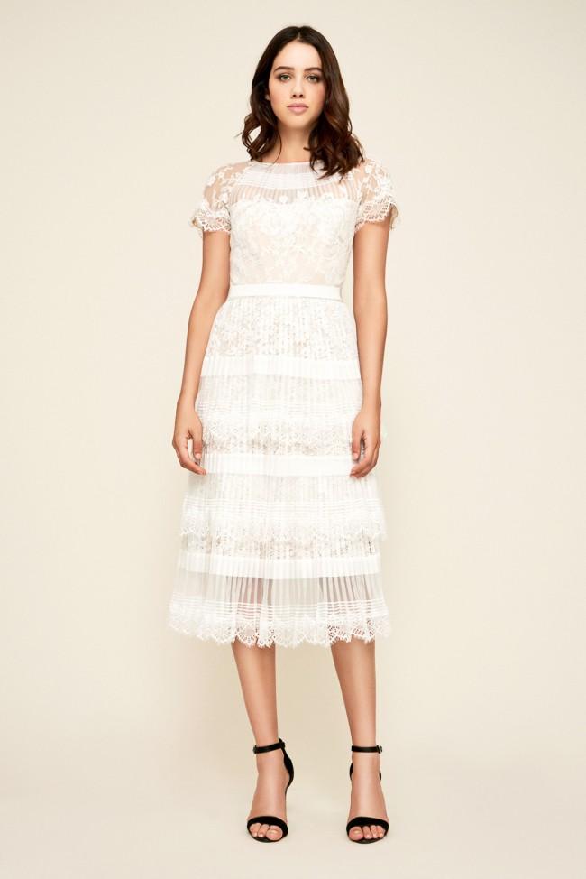 Tadashi Shoji, Nixie Pleated Dress