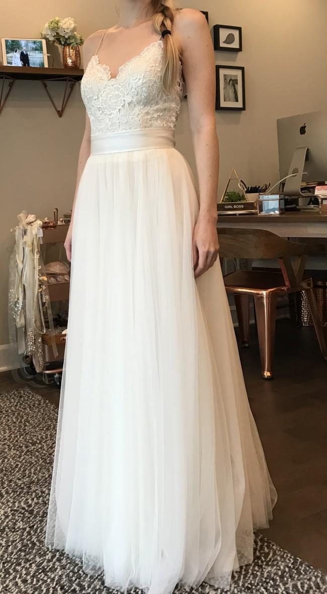 BHLDN, Havana Top, Amora Skirt, Simply Silk Sash