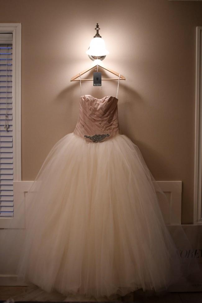Vera Wang, Vera Wang Tulle wedding dress with full princess s