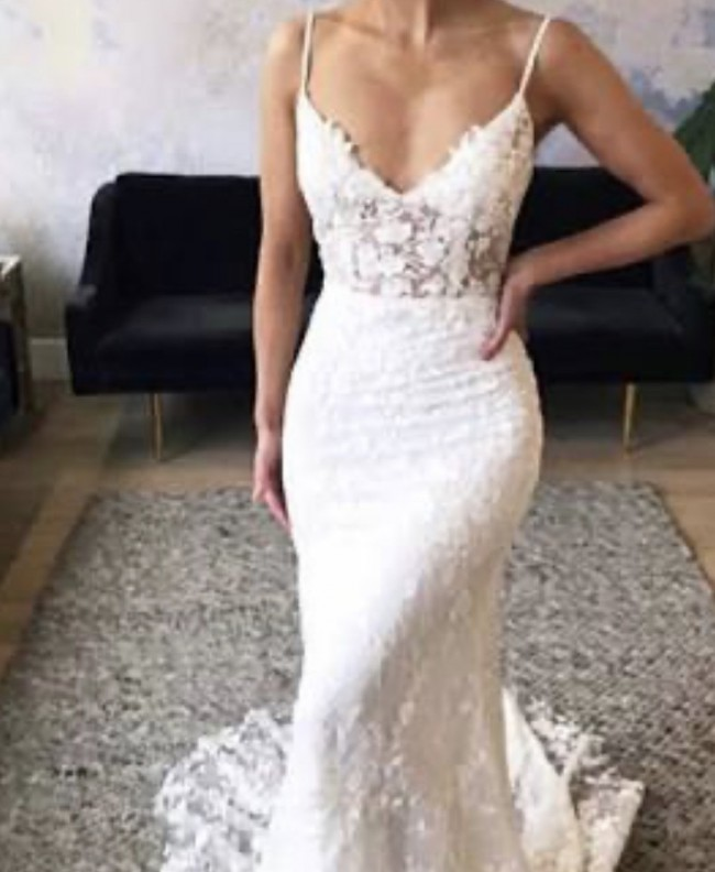 Emmy Mae Bridal Bec - Without the front slit