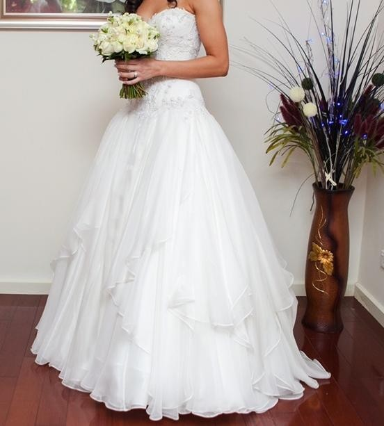 Connie Simonetti Sabrina Second Hand Wedding Dress On Sale
